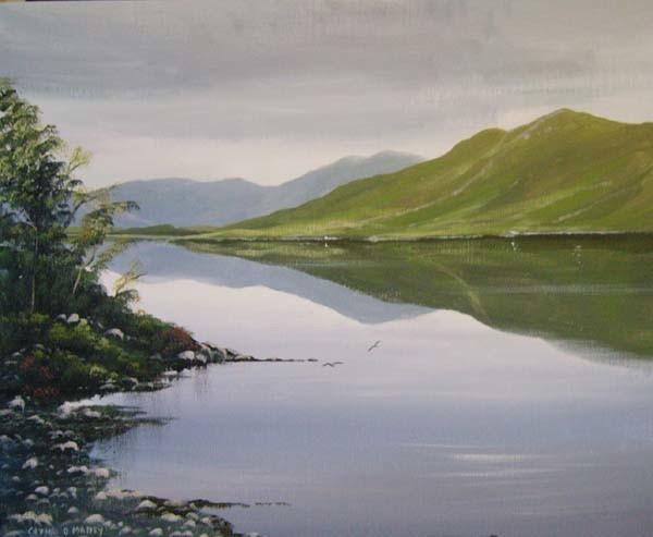 Cathal O Malley - kylemore lake tranquility