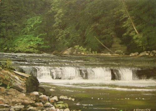 Cathal O Malley - beautiful falls