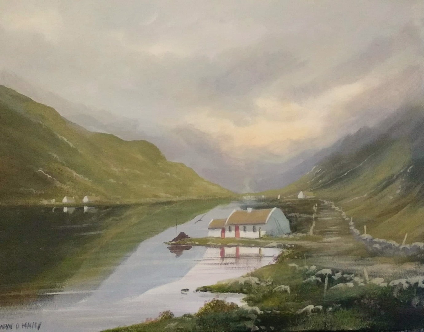 Cathal O Malley - connemara cottages  july