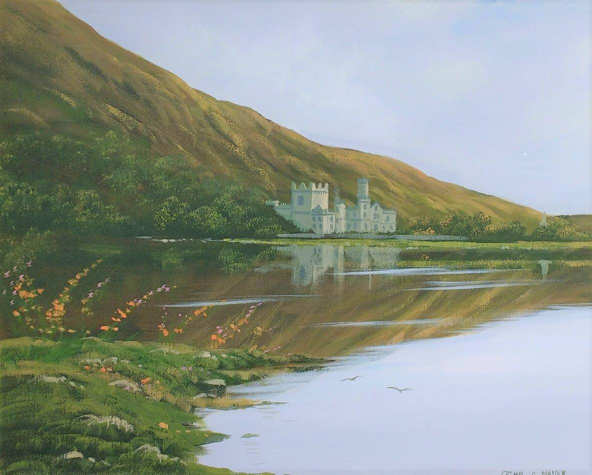 Cathal O Malley - kylemore abbey
