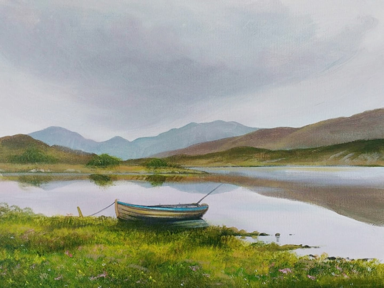 Cathal O Malley - killarney lake