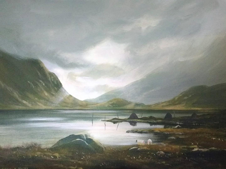 Cathal O Malley - last light connemara
