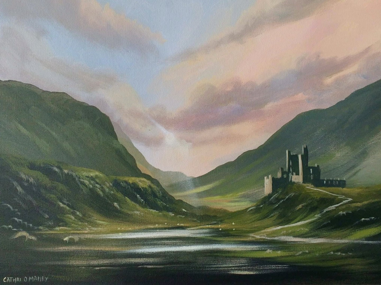 Cathal O Malley - valley of the clan
