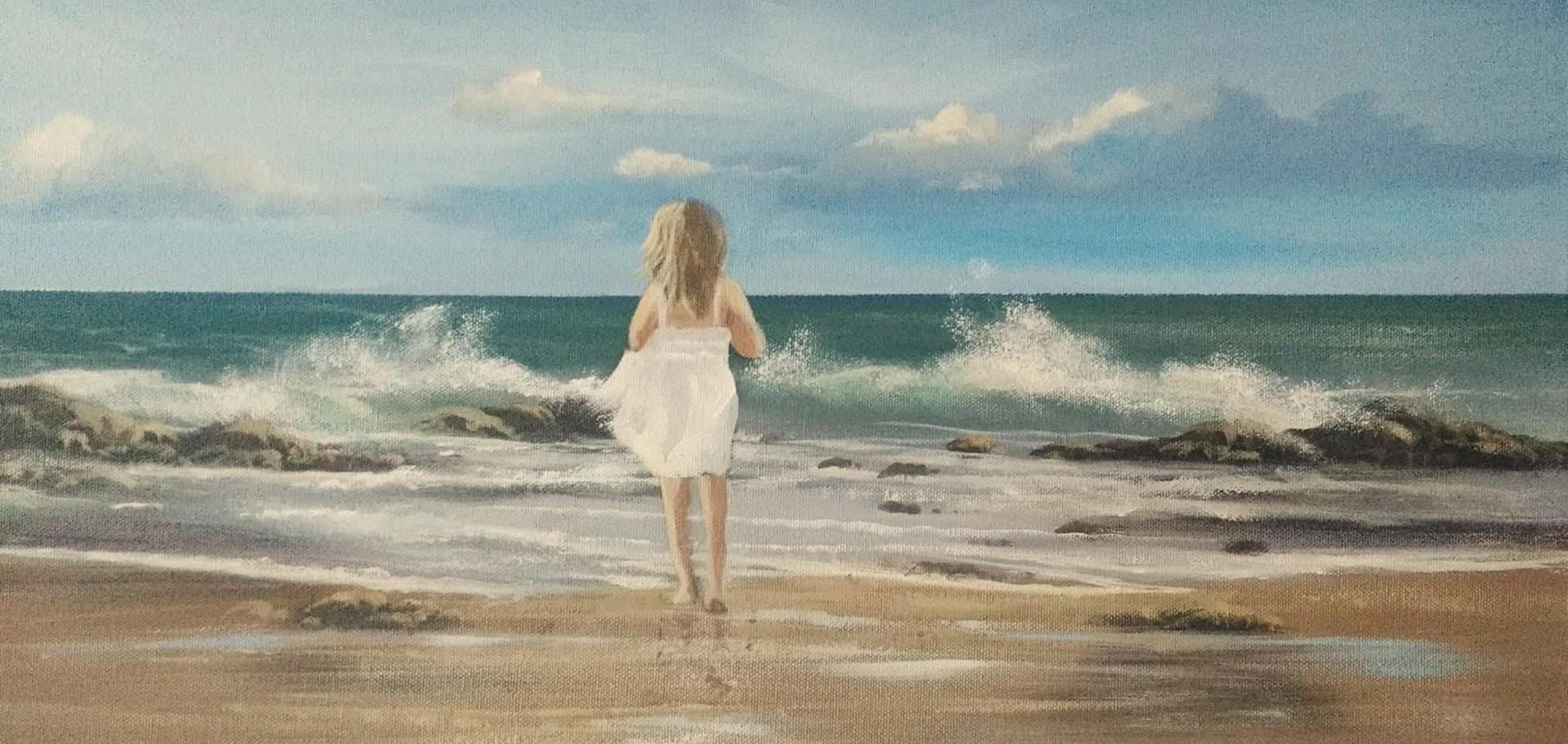 Cathal O Malley - beach girl