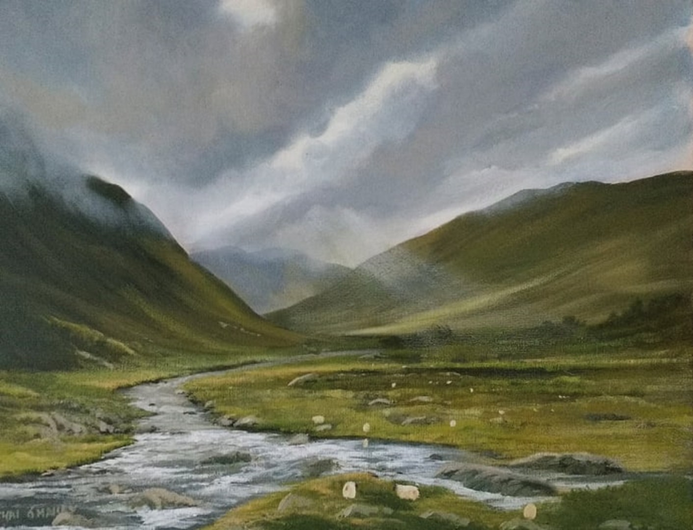 Cathal O Malley - Glenummera river