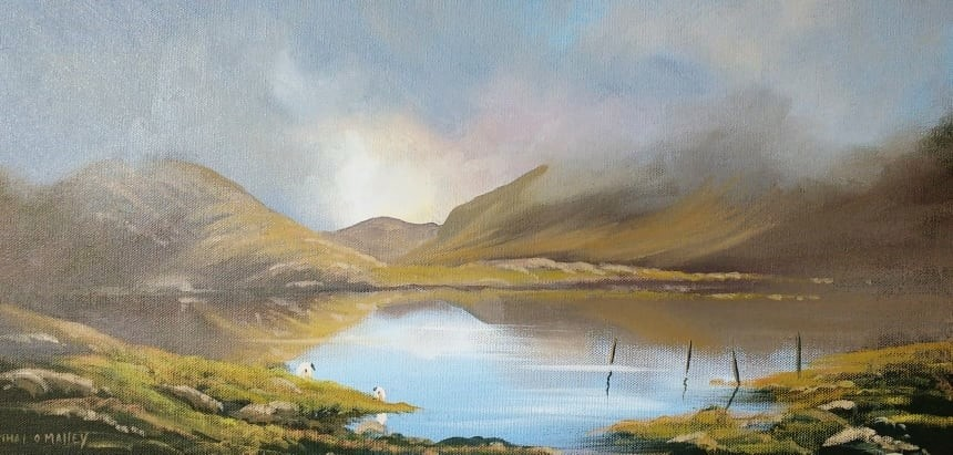Cathal O Malley - misty-morning-connemara