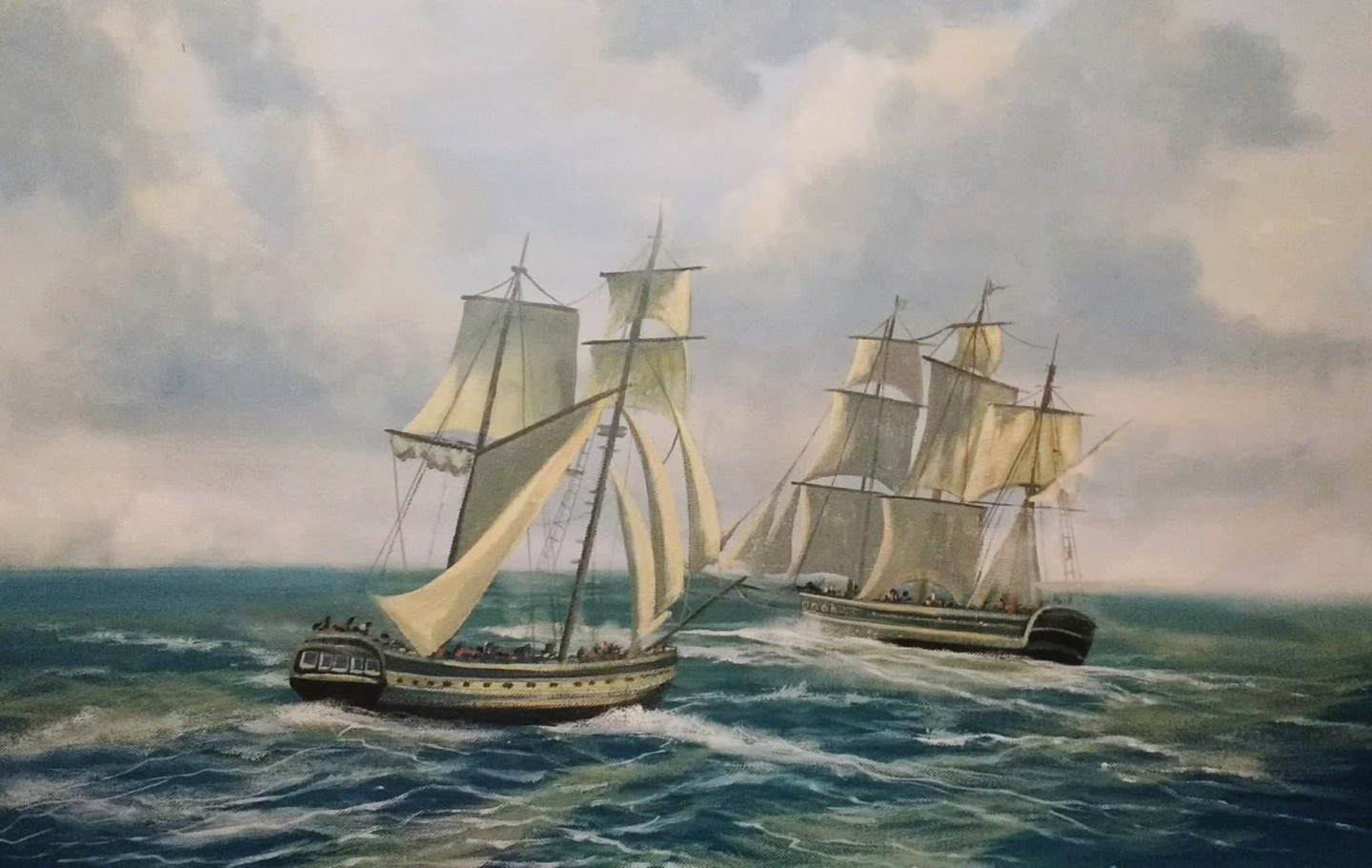 Cathal O Malley - the tall ships race