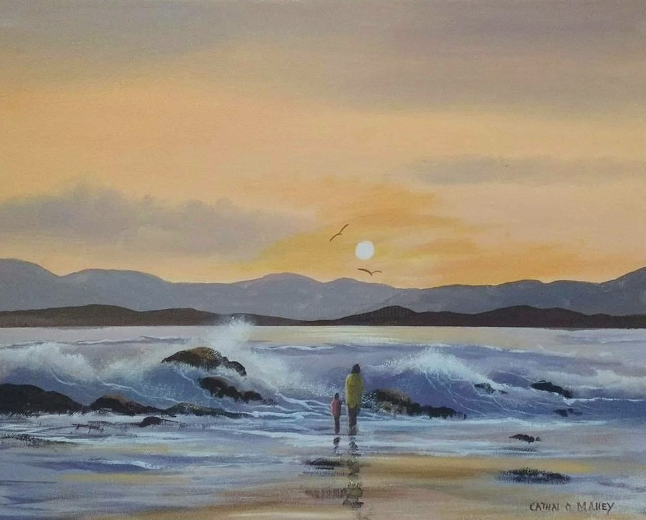 Cathal O Malley - Roundstone waves