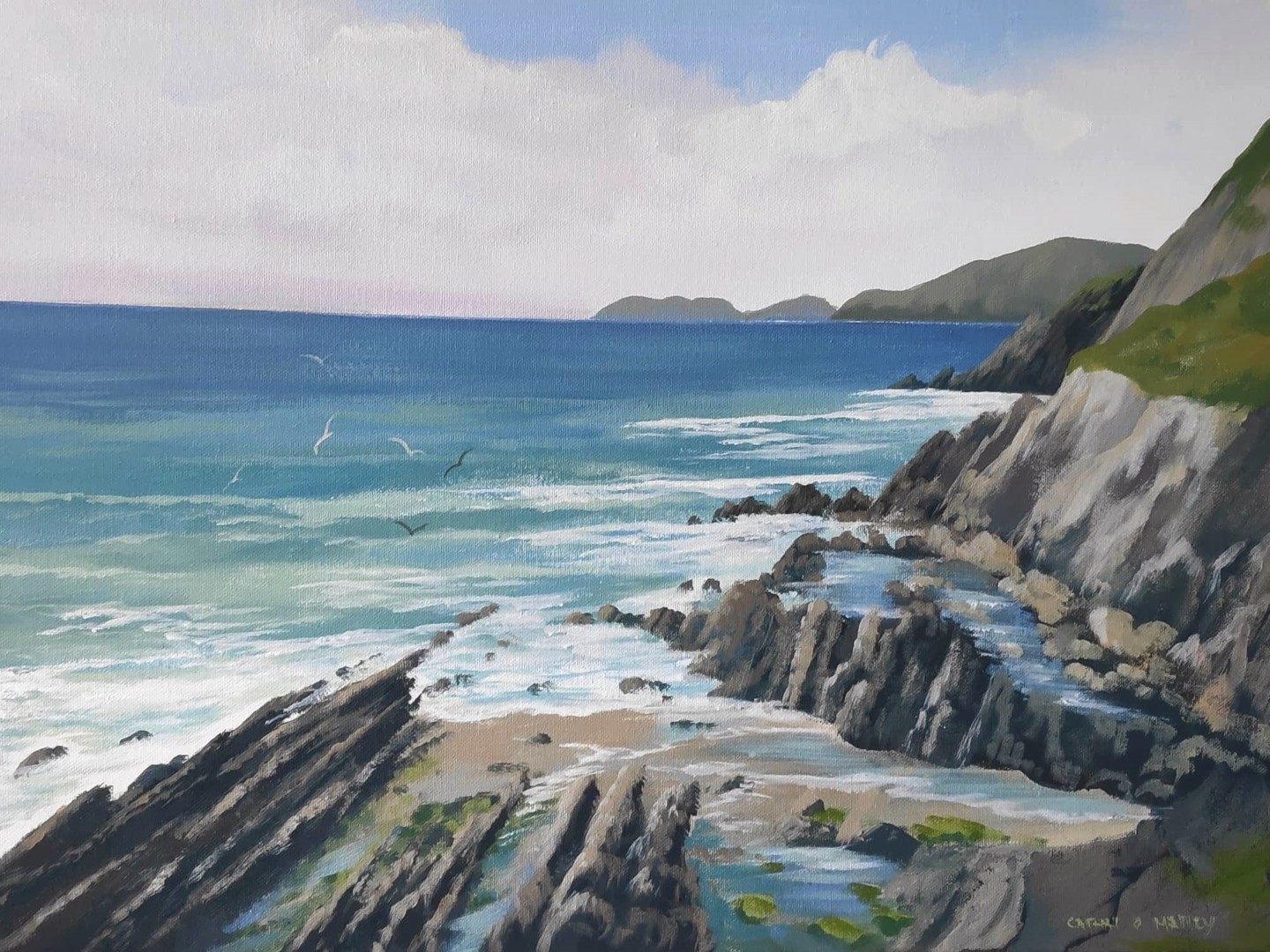 Cathal O Malley - dingle co kerry