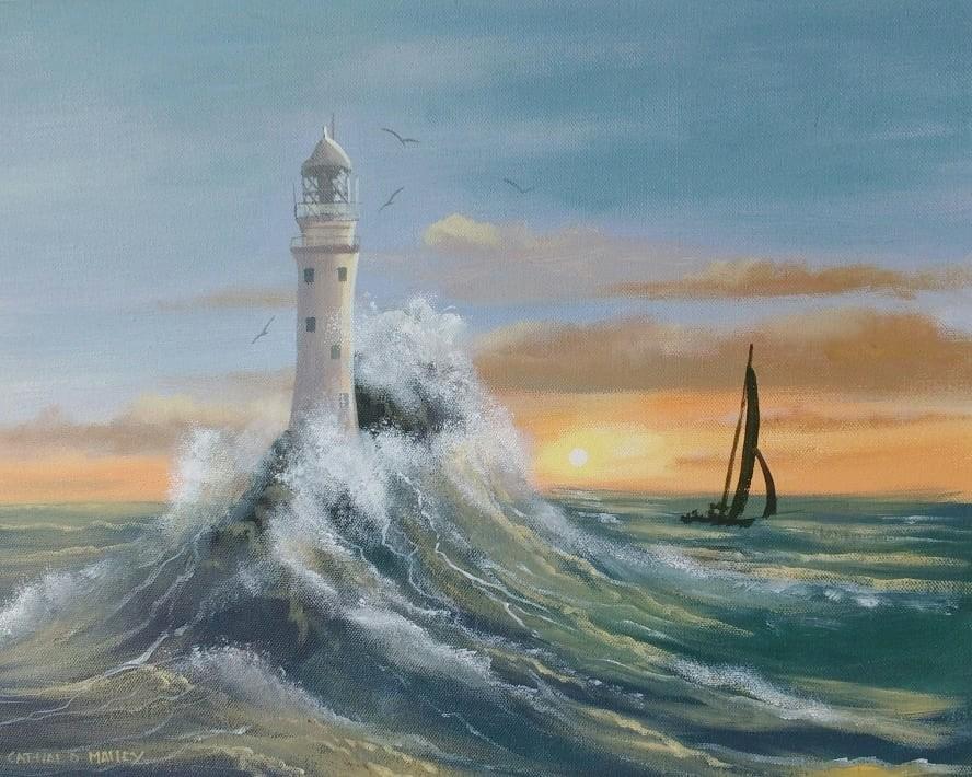 Cathal O Malley - sailing around fastnet