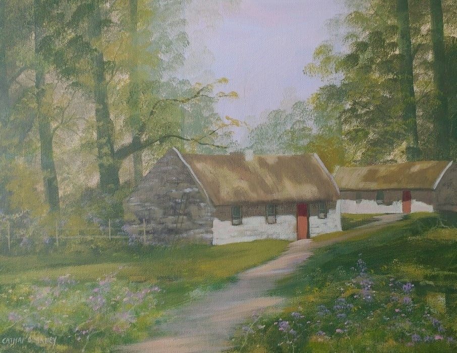 Cathal O Malley - cottages in the woods