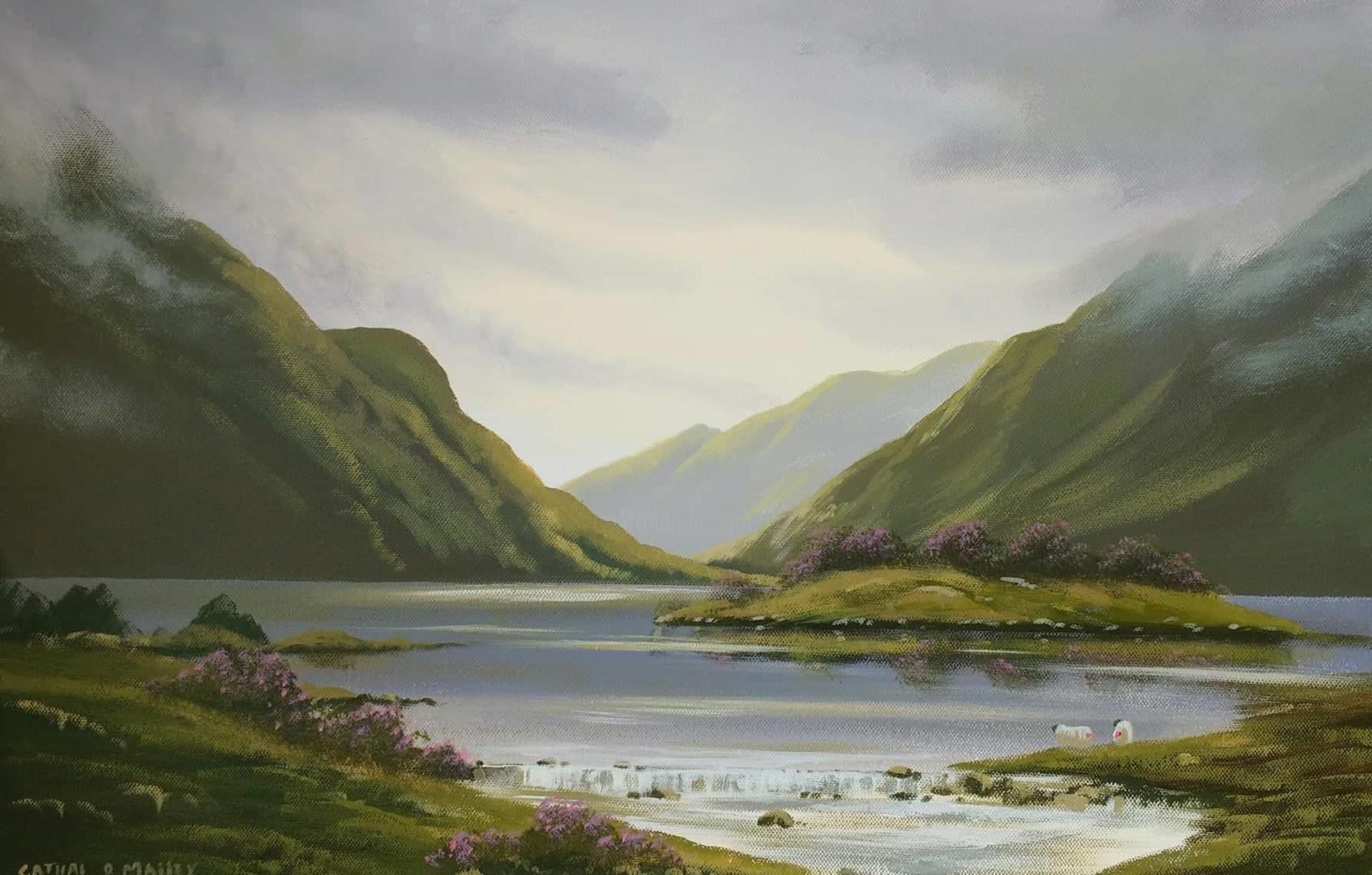 Cathal O Malley - shades of connemara