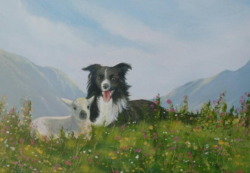 Cathal O Malley - minding-the-lamb