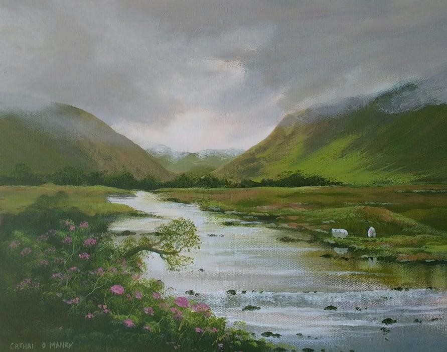Cathal O Malley - bundorragha river