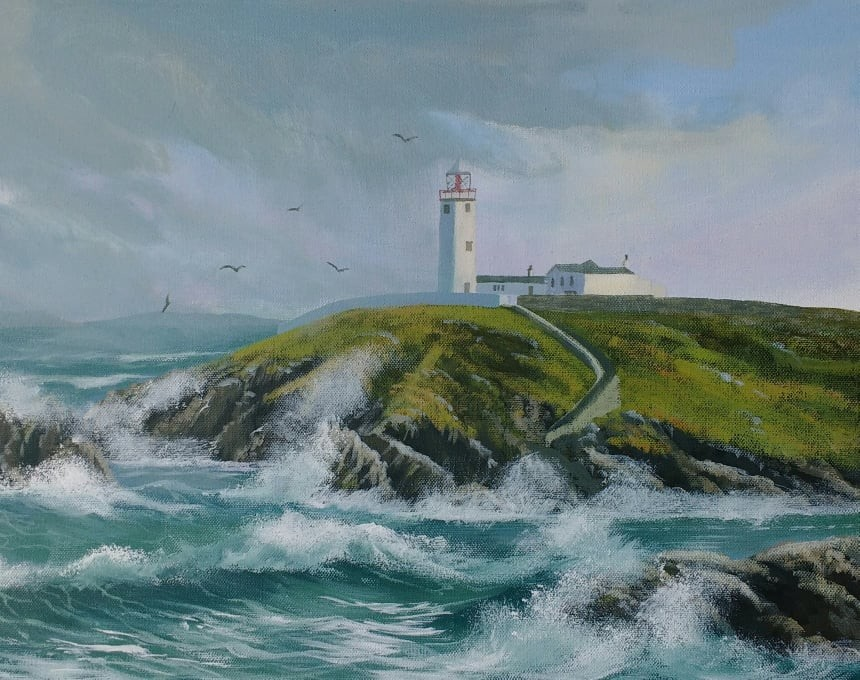 Cathal O Malley - fanad-painting