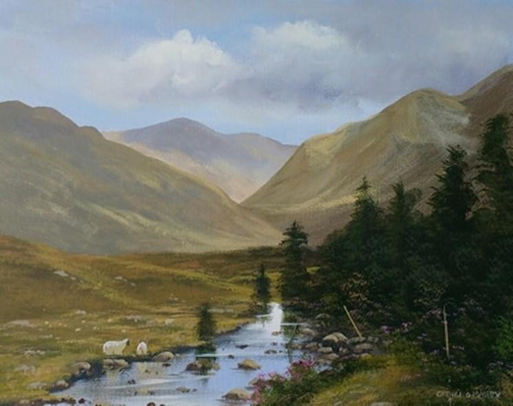 Cathal O Malley - connemara summer