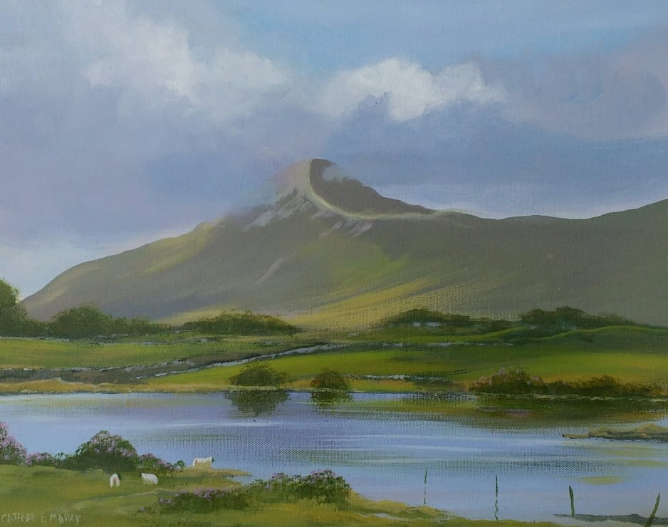 Cathal O Malley - croagh-patrick-summer.