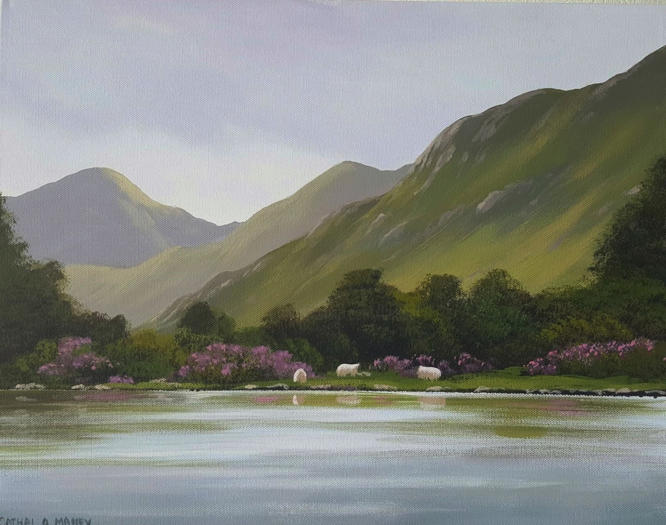 Cathal O Malley - kylemore reflections