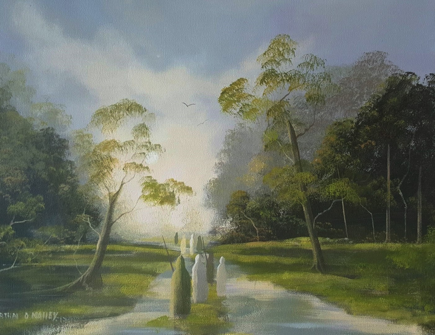 Cathal O Malley - forest druids