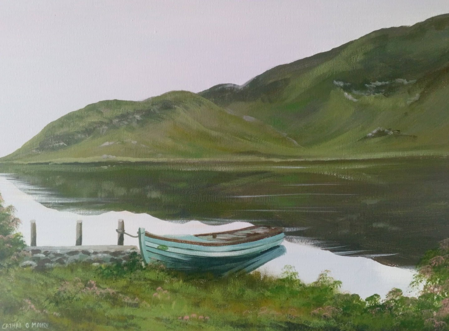 Cathal O Malley - connemara shore