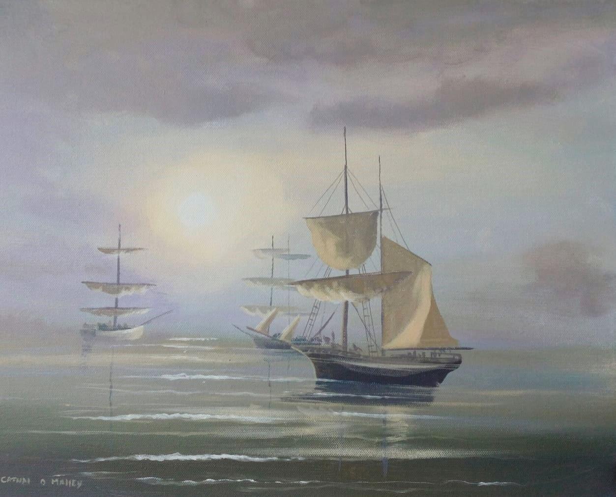 Cathal O Malley - kinsale ships