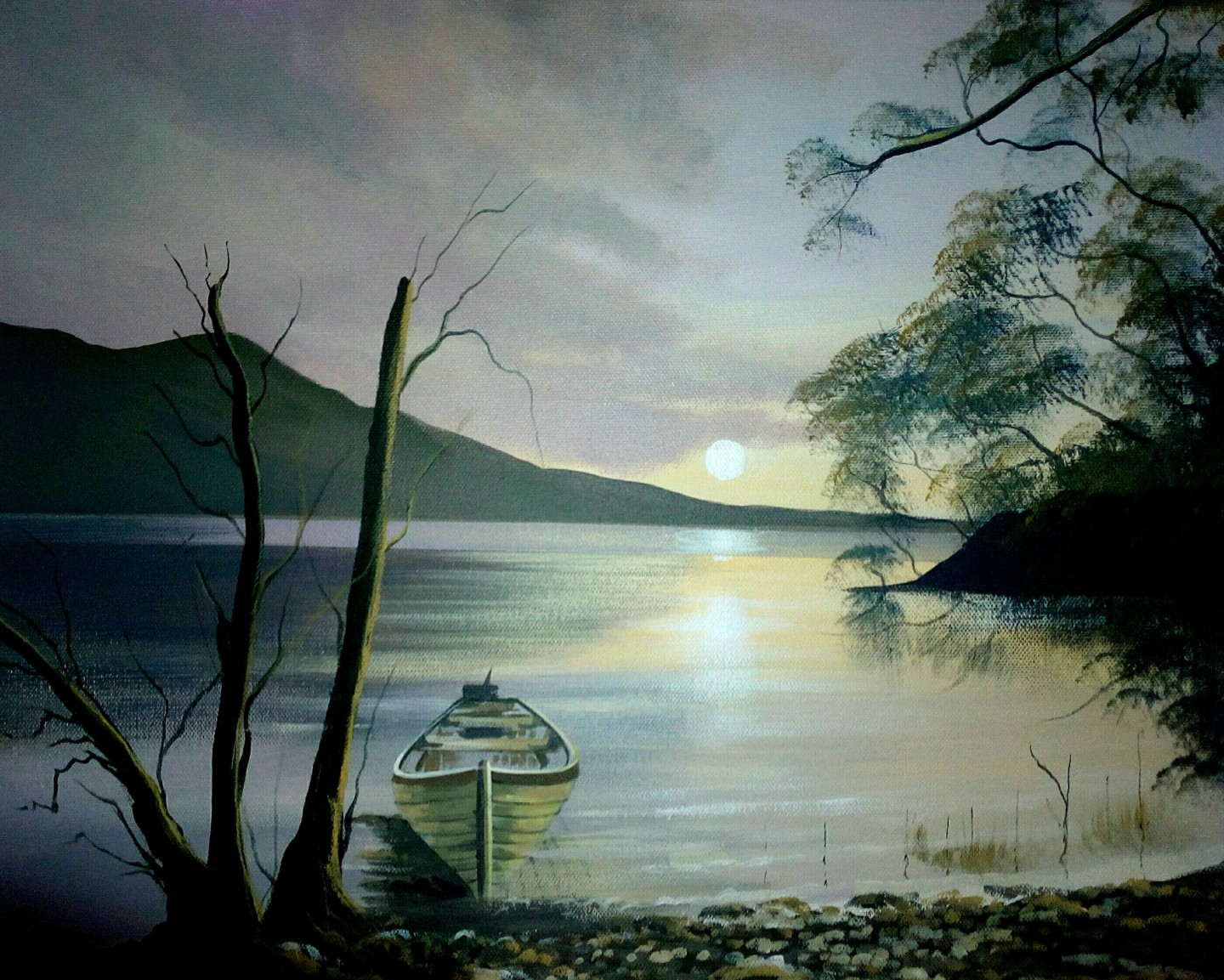 Cathal O Malley - Killarney lake
