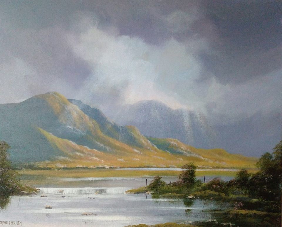 Cathal O Malley - connemara clouds