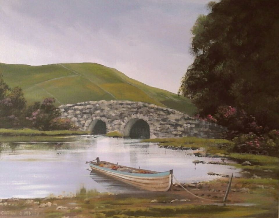 Cathal O Malley - quiet man bridge jan