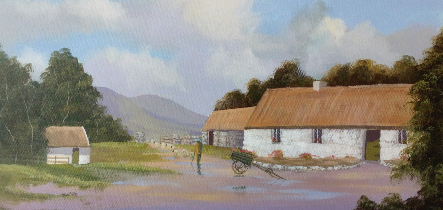 Cathal O Malley - quiet man cottage 2020