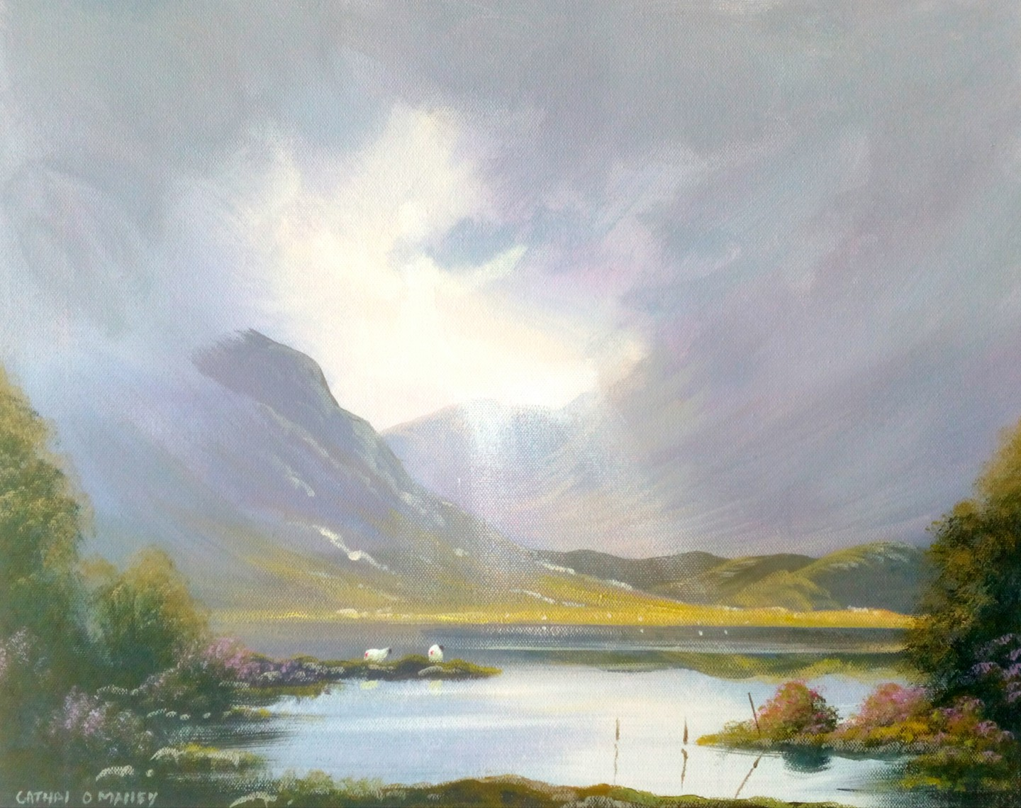 Cathal O Malley - Connemara springtime