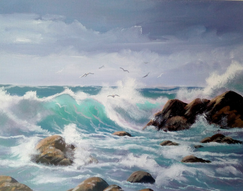Cathal O Malley - Aughrisbeg seagulls