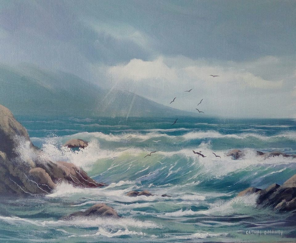 Cathal O Malley - wild atlantic waves