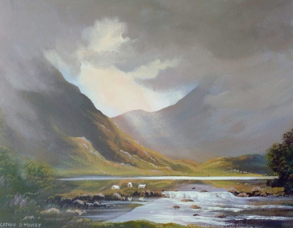 Cathal O Malley - connemara clouds may 2020