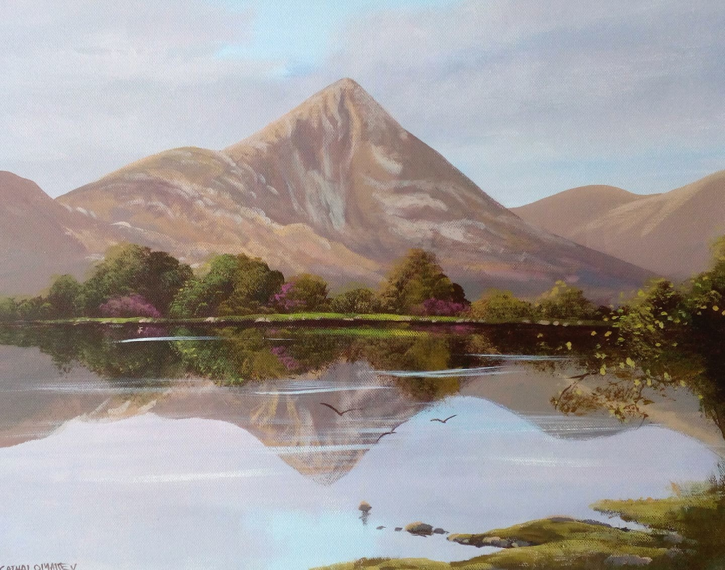 Cathal O Malley - croagh patrick,may