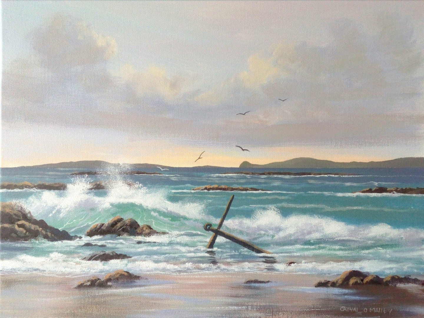 Cathal O Malley - Anchor beach in may