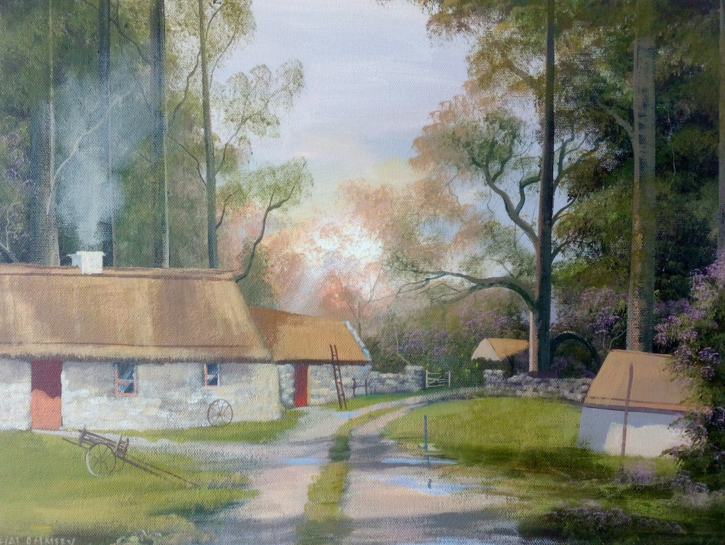 Cathal O Malley - Sunlight cottages