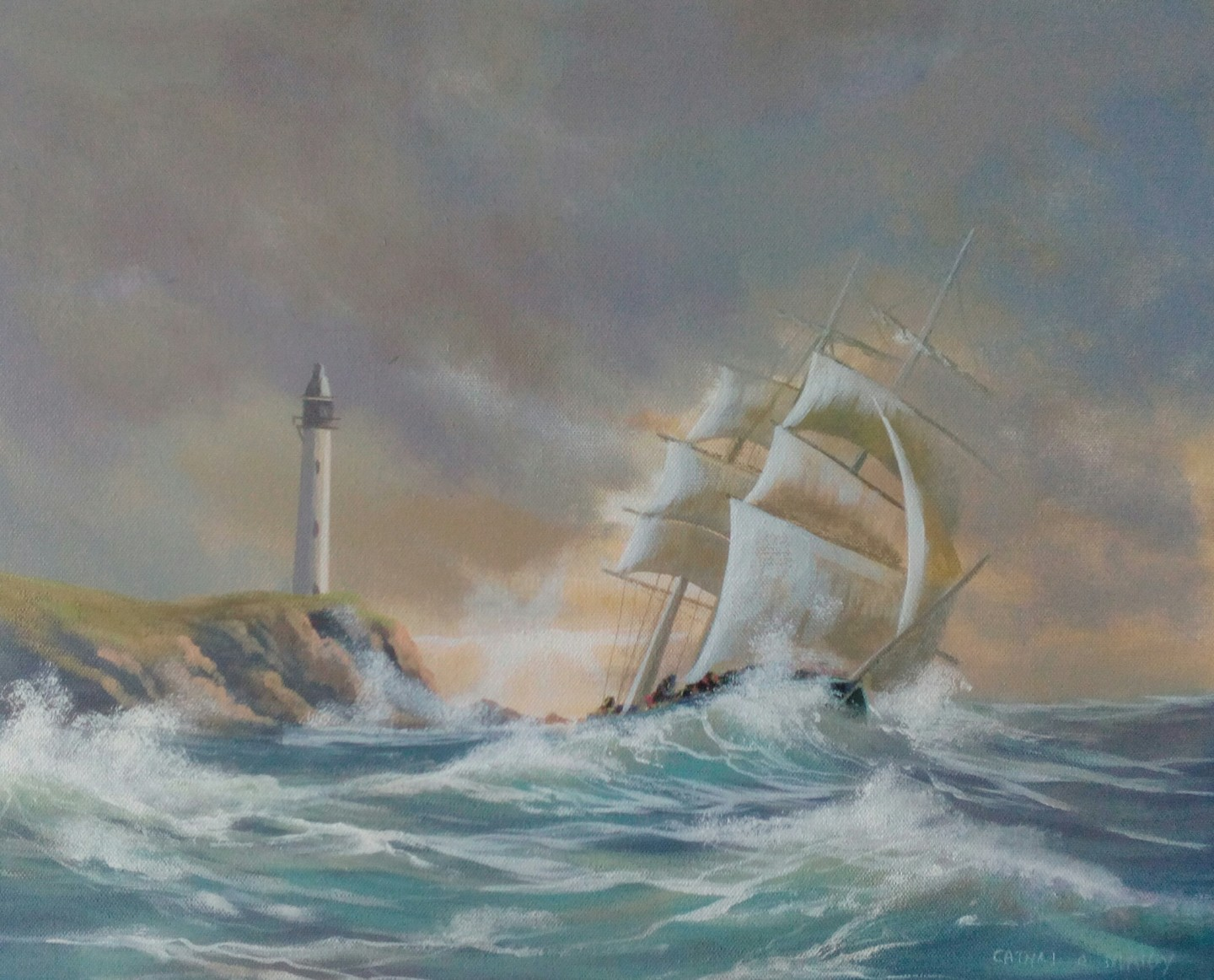 Cathal O Malley - Atlantic ship