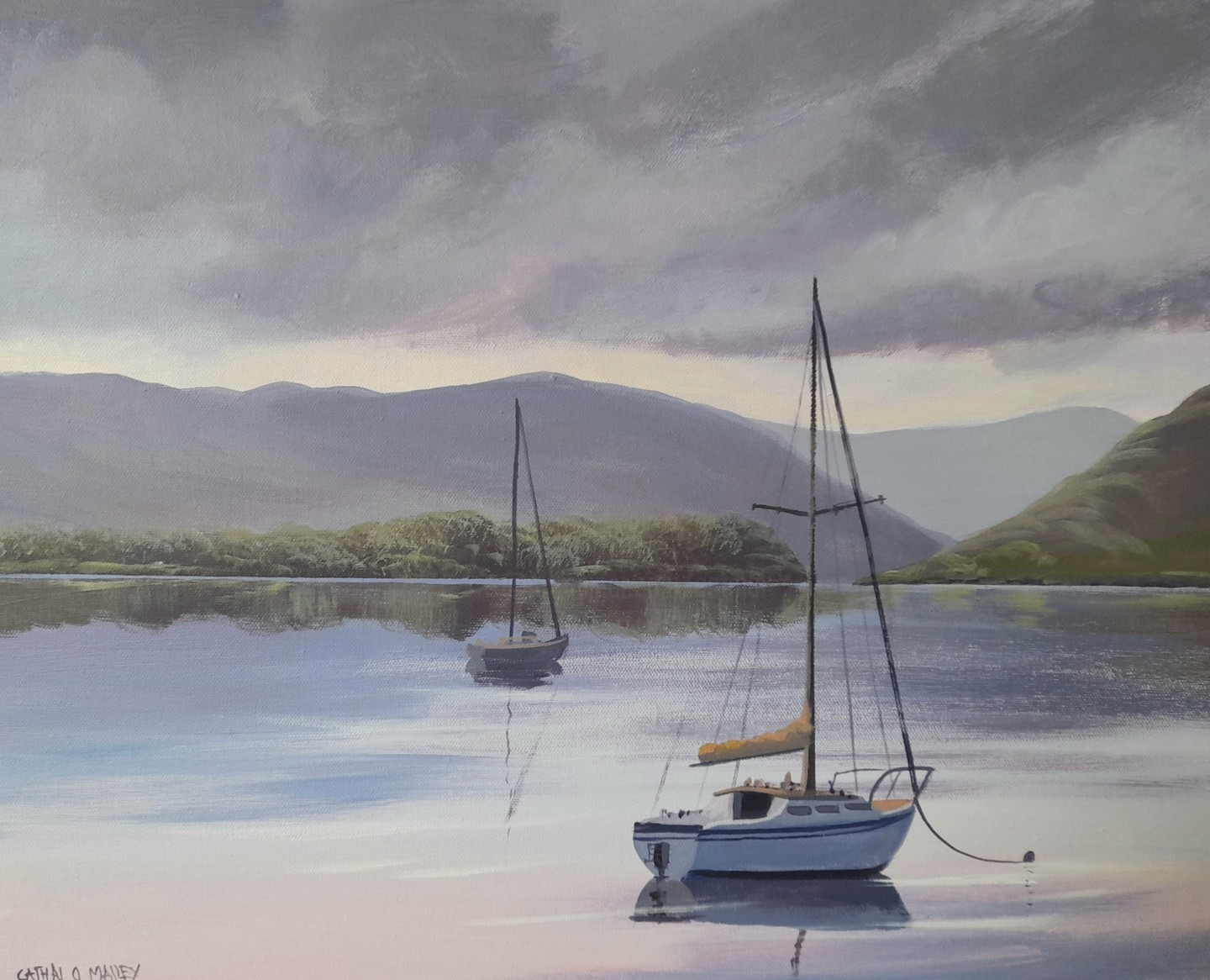 Cathal O Malley - Evening reflections