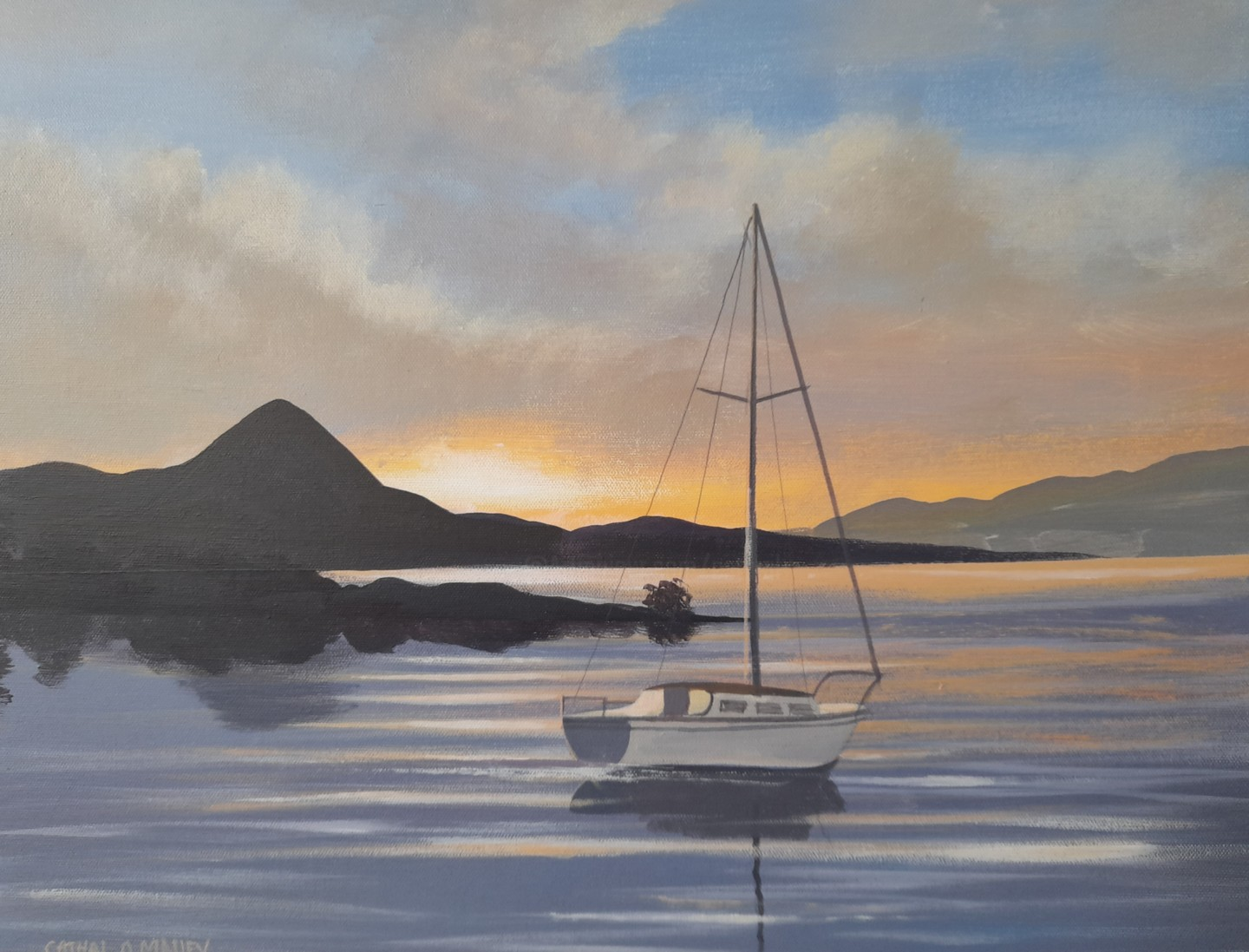 Cathal O Malley - Croagh patrick boat