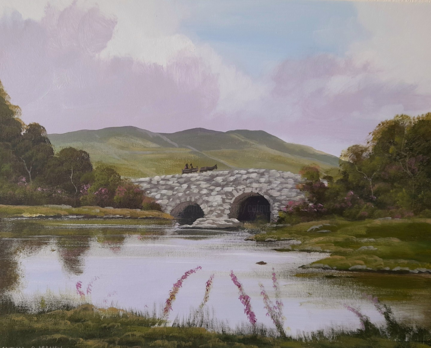 Cathal O Malley - Quiet man bridge,co galway