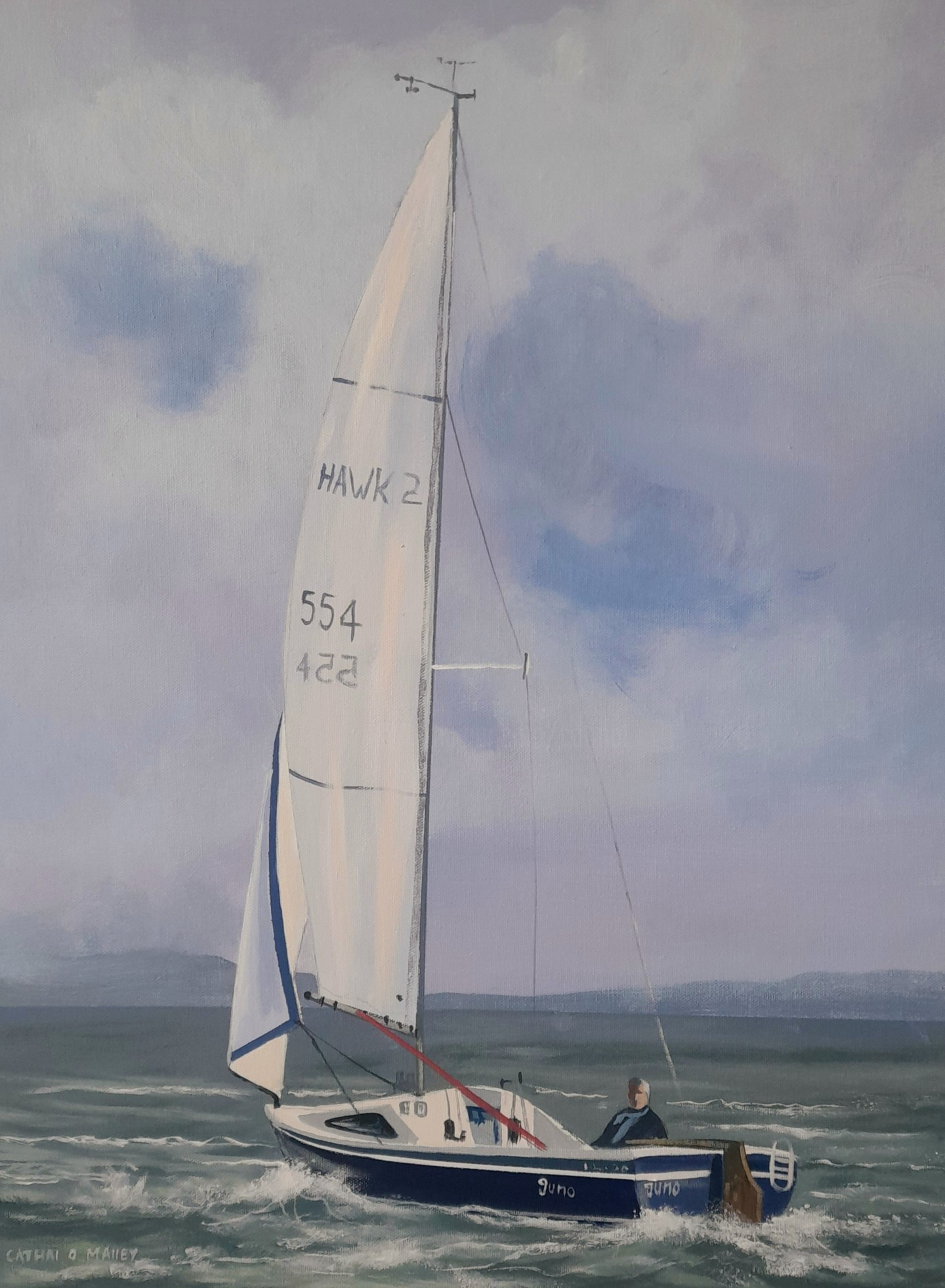 Cathal O Malley - Sailing west