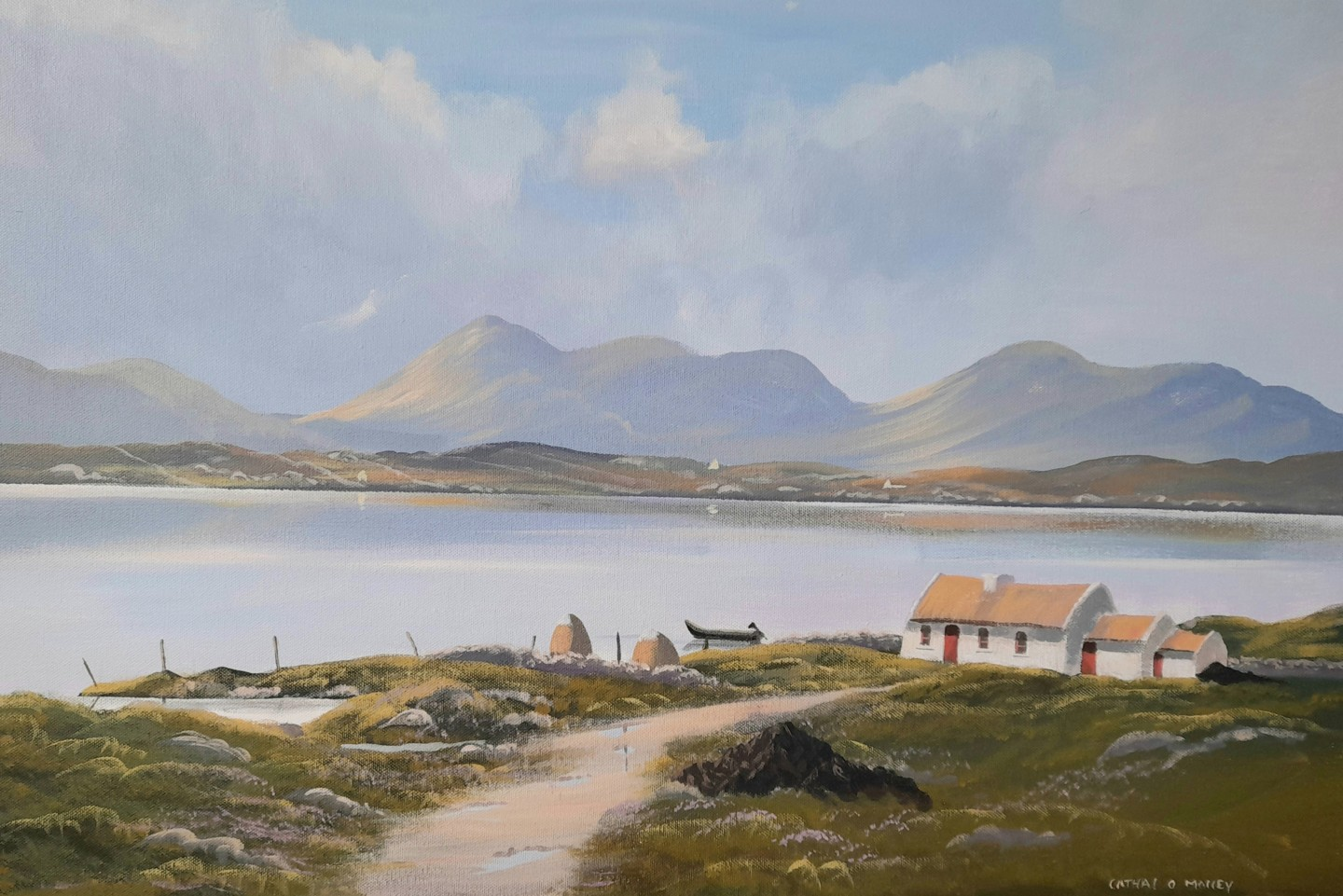 Cathal O Malley - Connemara cottage sept