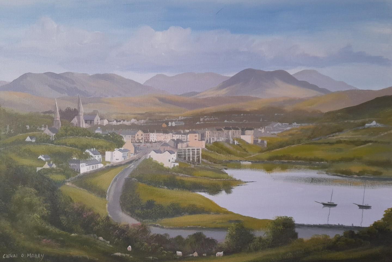 Cathal O Malley - Clifden town