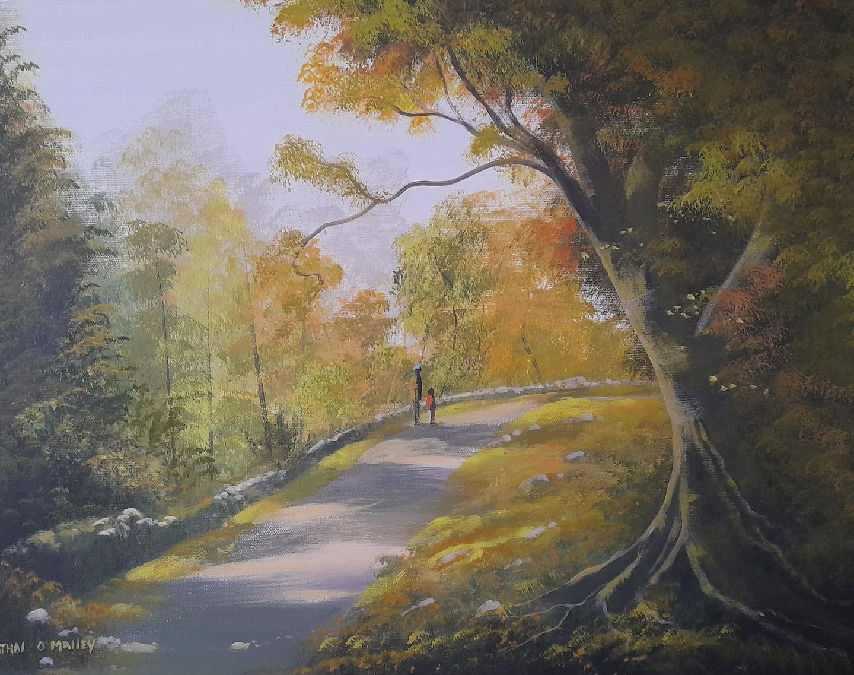 Cathal O Malley - An autumn  walk