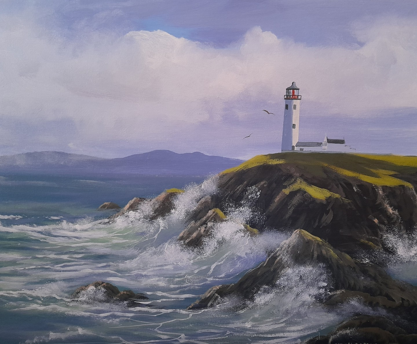 Cathal O Malley - Fanad lighthouse november