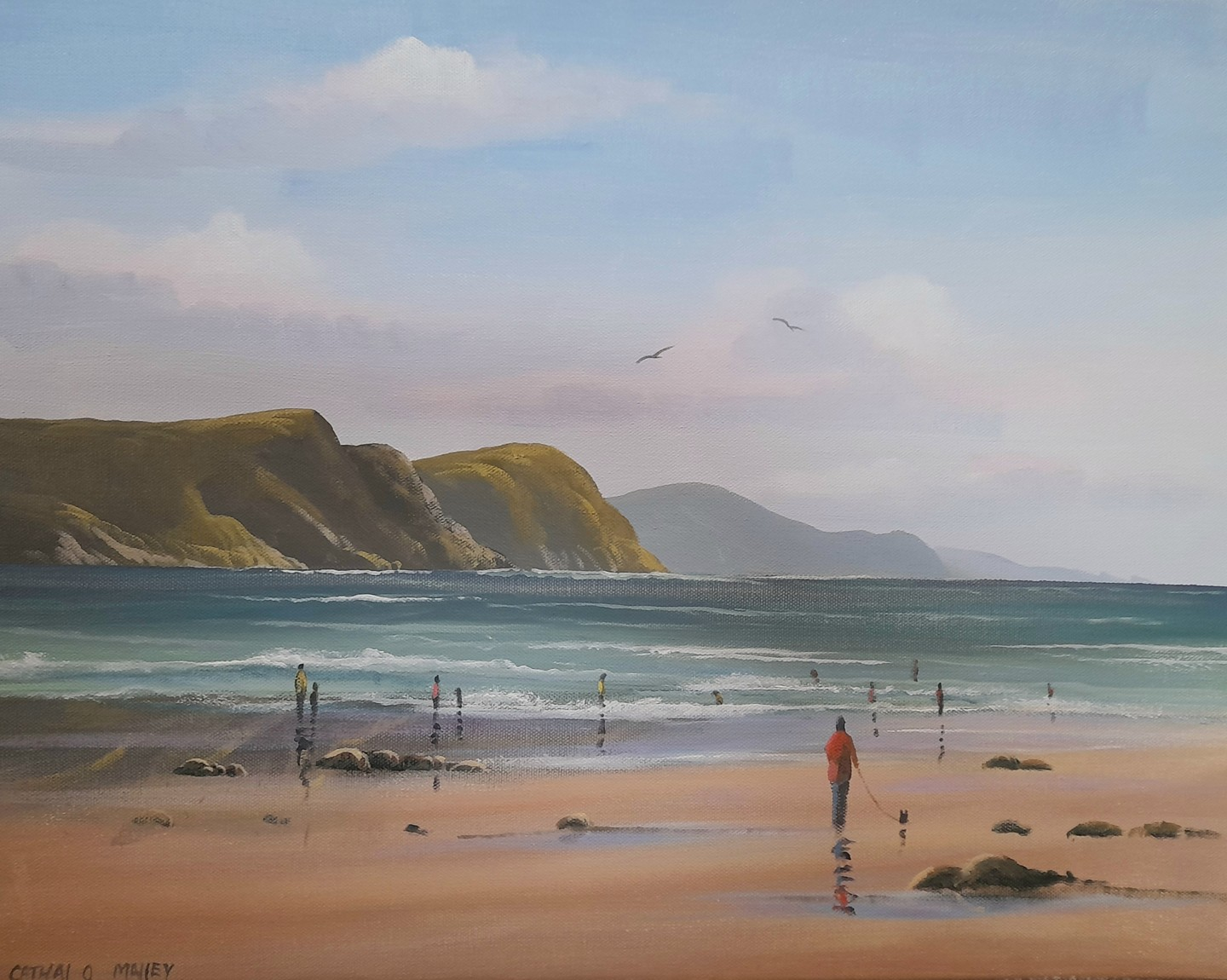 Cathal O Malley - Keem beach achill dec