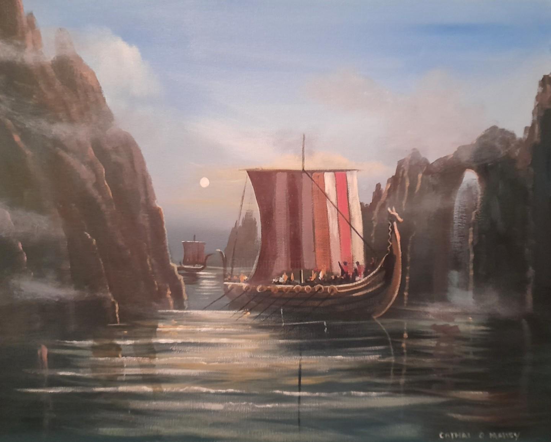 Cathal O Malley - The vikings ireland