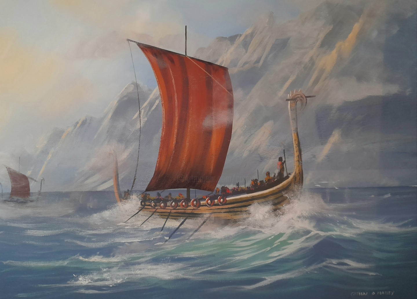 Cathal O Malley - Viking raid