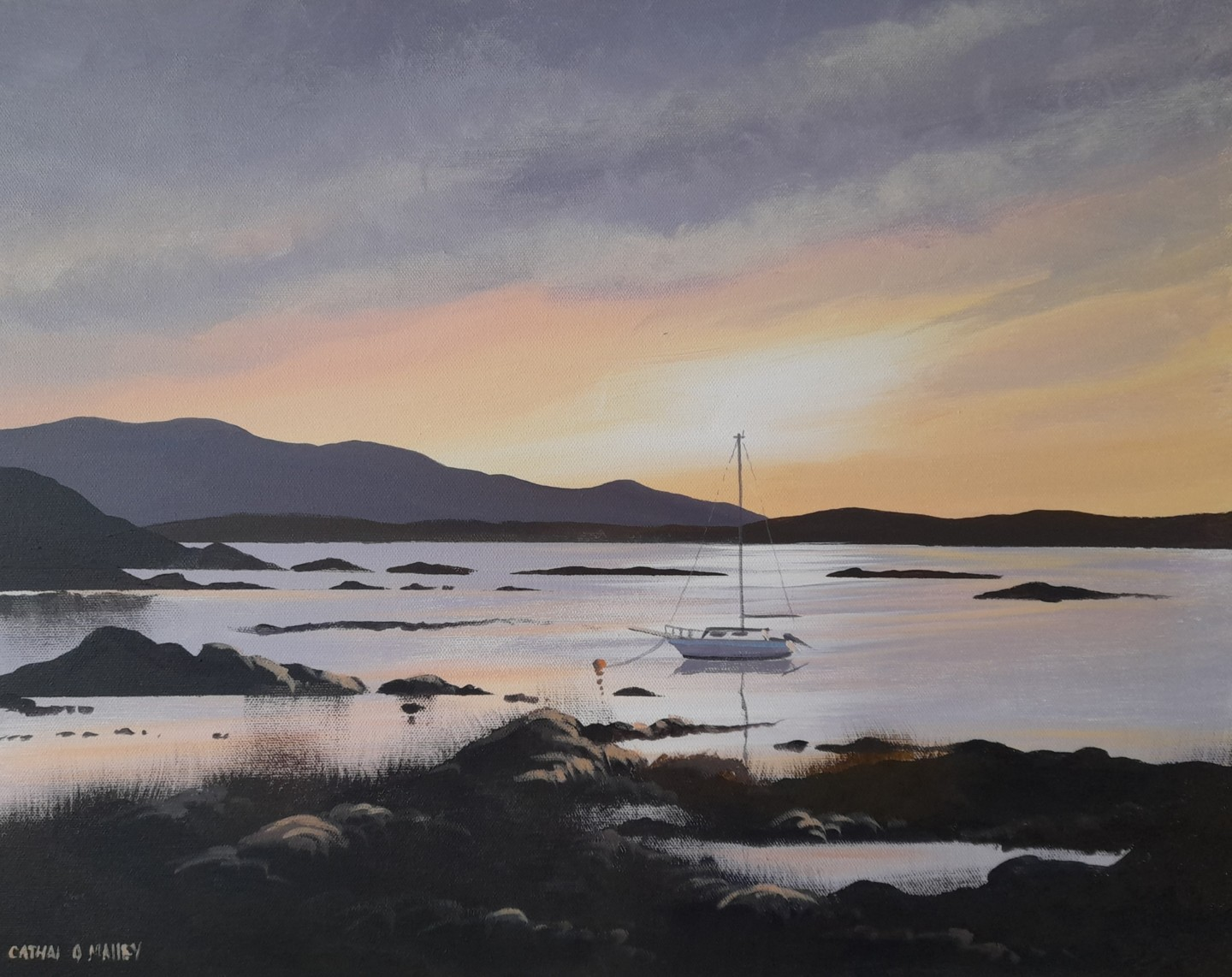 Cathal O Malley - Glynsk boat connemara