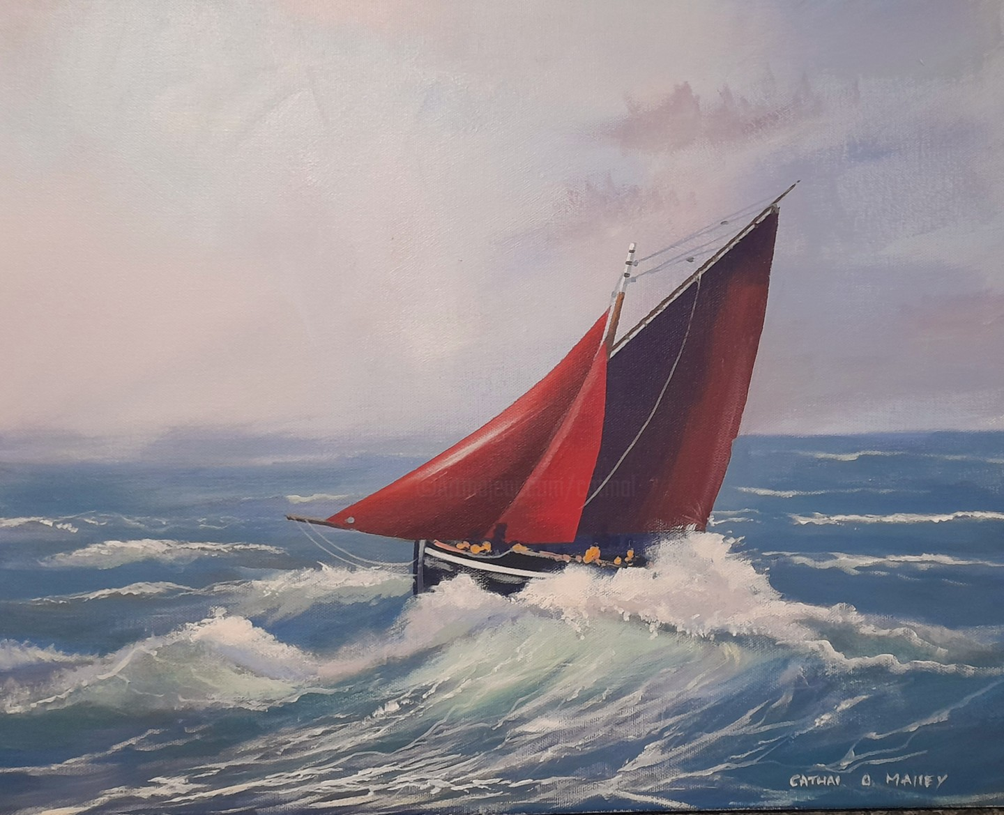 Cathal O Malley - Sailing home mar
